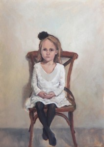 Zoe, 2014, oil on linen, 41 x 56cm